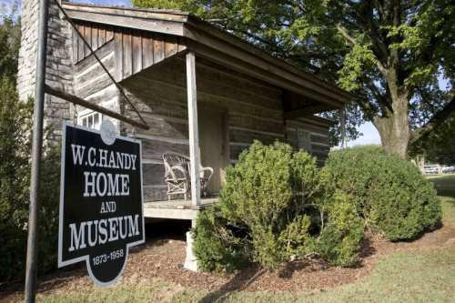 The W.C. Handy Home and Museum in Florence, Alabama