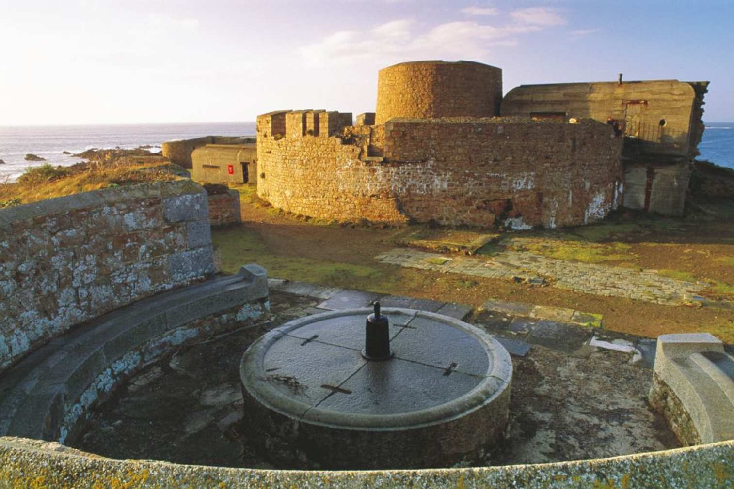 Fort Hommet, a complex of fortifications in Guernsey