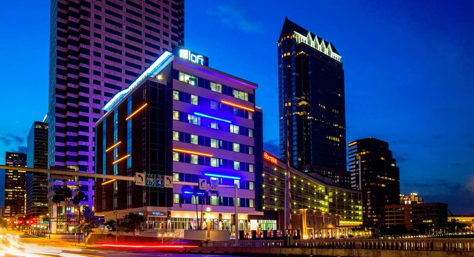 Aloft Tampa Downtown Hotel