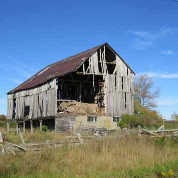 Old Barn down the road, photo by Mike Keenan