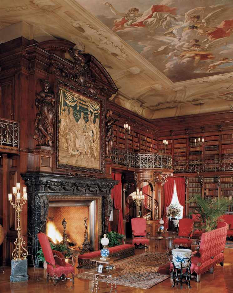 Library, photo by Biltmore Estate