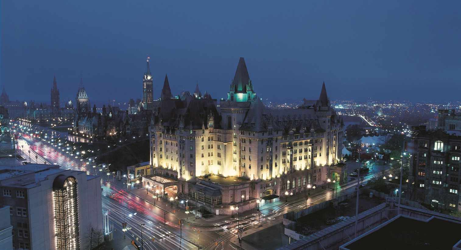 Chateau Laurier Hotel, photo by Fairmont