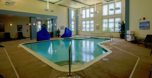 Pool area, photo supplied by hotel