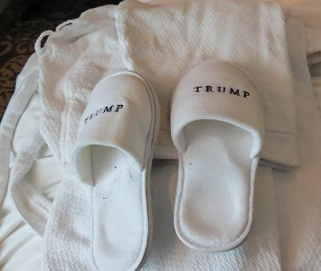Robe & Slippers, Trump International Hotel & Tower Toronto, photo by Mike Keenan