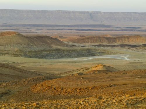 Ramon Crater, photo by Mike Keenan