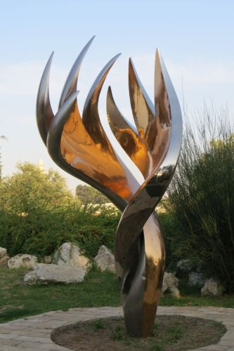 Bloomfield Garden sculpture, photo by Mike Keenan