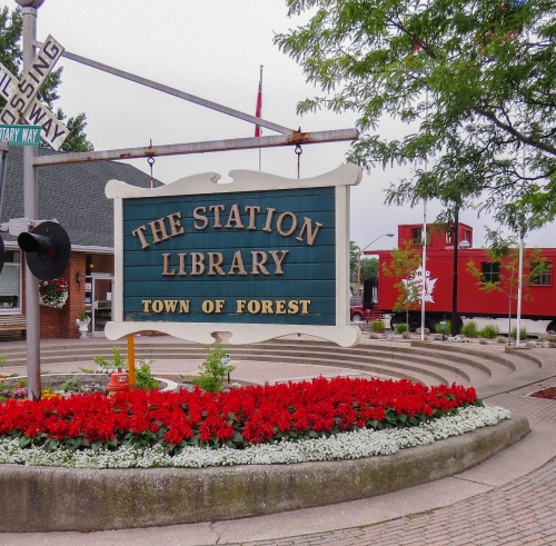 The Station Library, photo by Mike Keenan