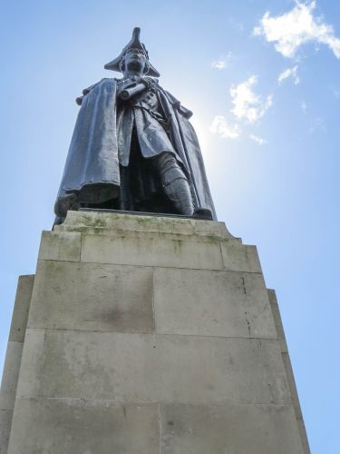 James Wolfe Statue, Greenwich, photo by Mike Keenan