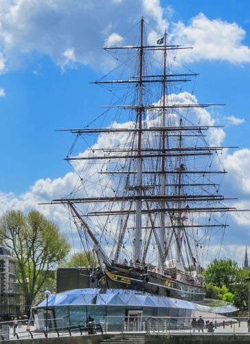 Cutty Sark, Greenwich, photo by Mike Keenan