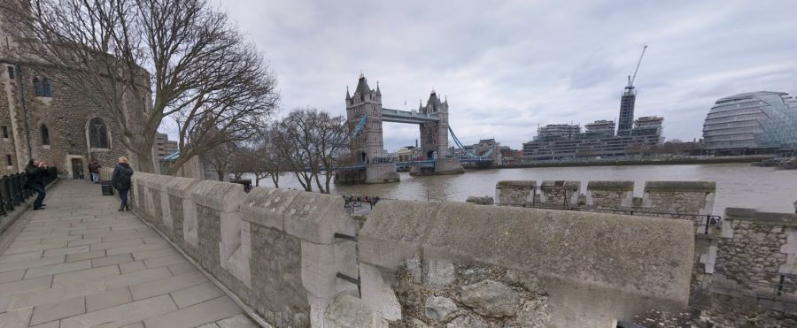 The Tower Of London - Google Streetview