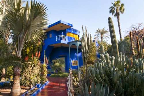 Majorelle Gardens, photo by Visit Morocco