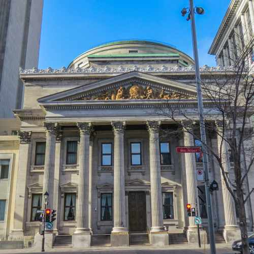 Bank of  Montreal, the oldest bank in Canada, photo by Mike Keenan