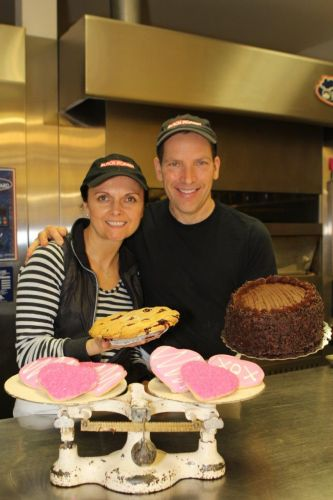 Marzena and John Ziemba,owners of the Black Forest Pastry Shop