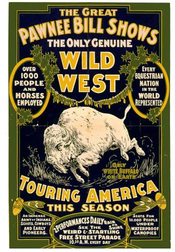 Show poster, Photo, Courtesy of the Oklahoma Historical Society
