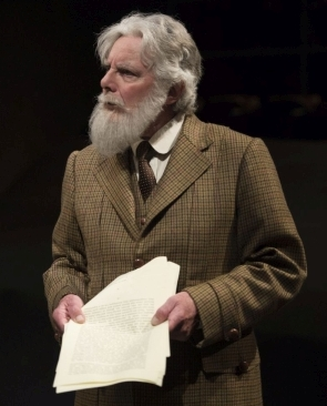 Guy Bannerman as GBS in The Adventures of the Black Girl in Her Search for God. Photo by David Cooper