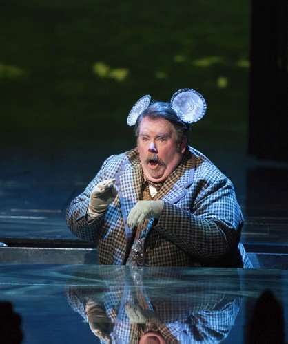 Neil Barclay as the French Mouse. Photo by Emily Cooper