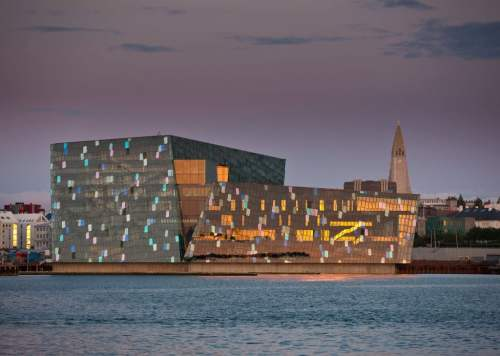 Harpa Reykjavik Concert Hall and Conference, photo by Visit Iceland Centre