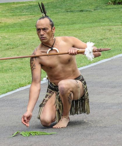 Challenge Ceremony, Te Puia the Maori Cultural Centre, Rotorua, New Zealand, photo by Mike Keenan