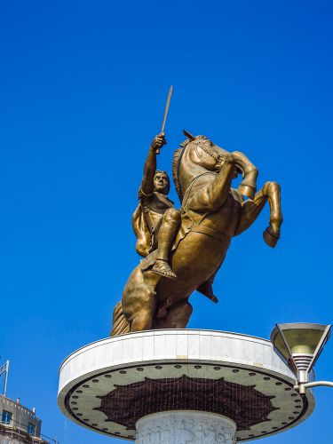 Alexander the Great or Warrior on a Horse