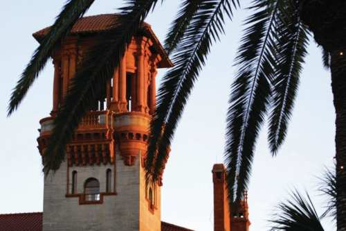 Lightner Museum tower, photo by Visit St. Augustine