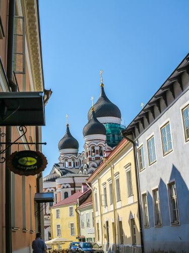 Upper Old Town with Alexander Nevsky Cathedral