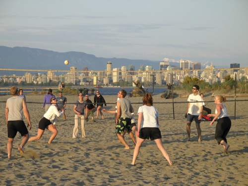 Beach Volleyball in Kitsilano, photo by Visit Vancouver