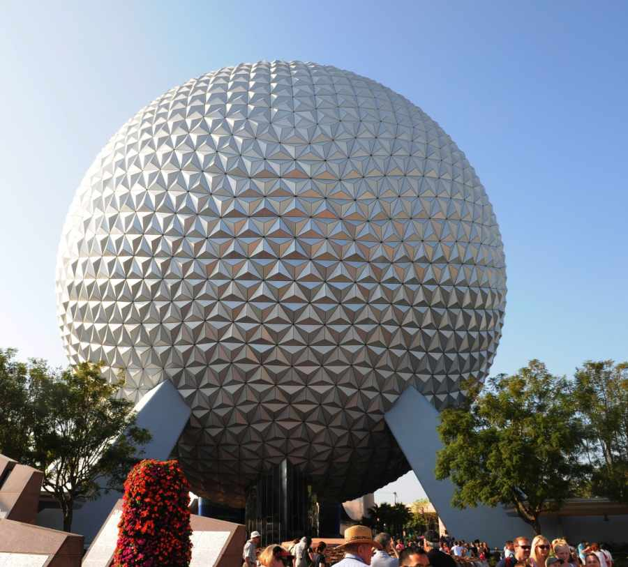 Epcot Dome, photo by Mike Keenan