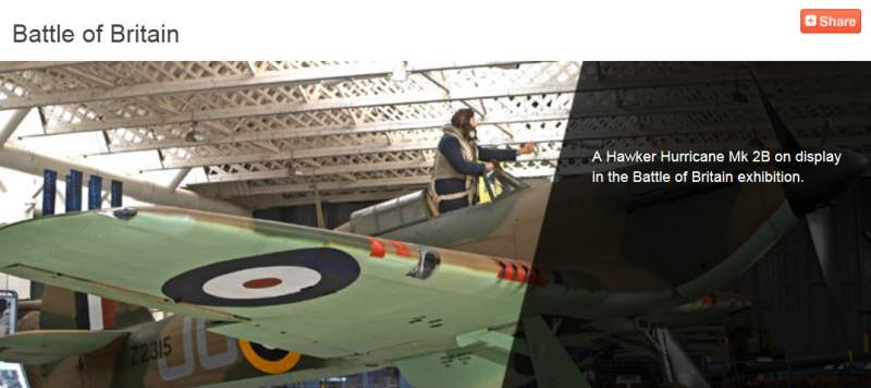 Battle Of Britain Exhibit