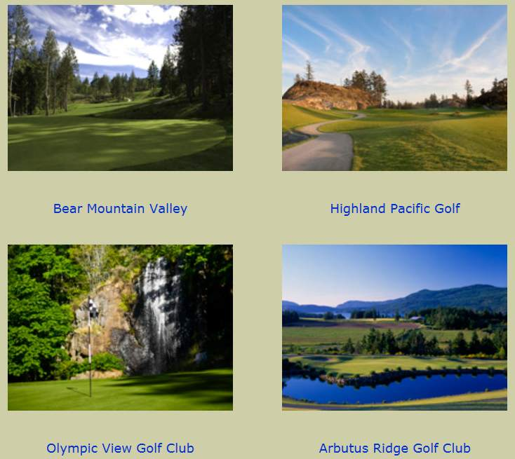 Vancouver Island Golf
