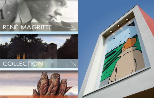 Magritte And Herge Museums